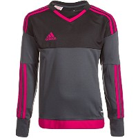 Adidas Top 15 Goalkeeper Jersey - Grey and Black -Youth/サッカー ゴールキーパージャージー Top 15 ジュニア向け (Y-Small)