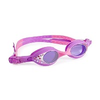 Swimming Goggles for Girls – Fresh Cut Kids Swim Goggles by bling2o (バイオレットピンク)[並行輸入品]