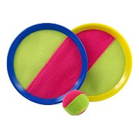 Homefun Velcro Toss and Catchスポーツゲームセットfor Kids withグリップMitts & Beanバッグボール