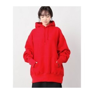 【CAMBER/キャンバー】CROSS KNIT PULLOVER HOODED PARKA:パーカー◆【ジャーナルスタンダード/JOURNAL STANDARD レディス パーカー レッド ルミネ...