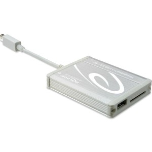 《在庫あり》DeLOCK Thunderbolt Tether to USB 3.0 + SD4.0 reader [91723]