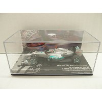 【開封済】 Mercedes AMG Petronas F1 Team W03 M. Schumacher 300th GP Belgium 2012 1:43 【中古】【ミニカー】【鈴鹿 併売品】...