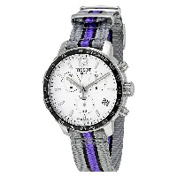 ティソ Tissot 腕時計 メンズ 時計 NBA バスケットボール Tissot Quickster Sacramento Kings Chronograph Mens Watch...