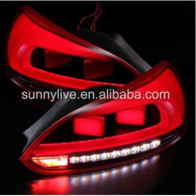USテールライト[右ハンドル・日本仕様]VW 2009-2014 Scirocco LEDテールライトリア・ランプFor VW For VW 2009-2014 Scirocco LED Tail...