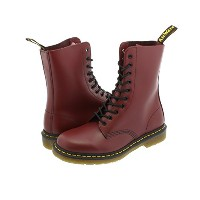 [ドクターマーチン] Dr.Martens 10HOLE BOOT 11857600 (1490) CHERRY RED