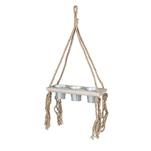 DULTON HANGING TIN POT ''TARZAN'' TRIPLE