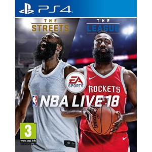 NBA Live 18 (PS4) - From UK.