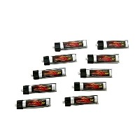 DINOGY ダイノジー リポバッテリー 3.7V220mAh 50C (LC-1S220G) 10本セット Blade Inductrix FPV/Tiny Whoop用