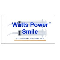Watts - 2 Large Syringe Oral Irrigators with Tapered Deep Reach Tips for Crowns, Bridges, Oral...