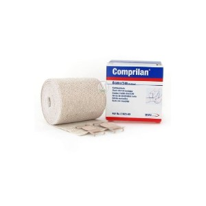 Comprilan, 100% Cotton Short Stretch Compression Bandage, 6cm x 5m (2.4テ「ツツ x5.5yds.), 1 Roll per...