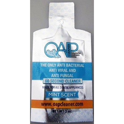 Oap Cleaner - Cleaner for Removable Dental and Ortho Appliances - Packets - 3 ml (10 Packets) by OAP