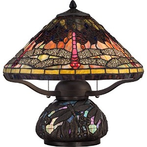 Quoizel TF1851TIB Tiffany Table Lamp by Quoizel