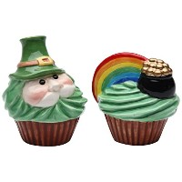 """StealStreet ss-cg-618173.25レプラコーン"""" and Rainbow Pot Of Gold Salt and Pepper Shakers"""