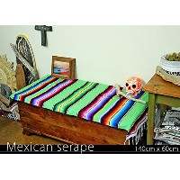 RUG&PIECE Mexican Serape made in mexcico ネイティブ メキシカン サラペ メキシコ製(rug-5713)
