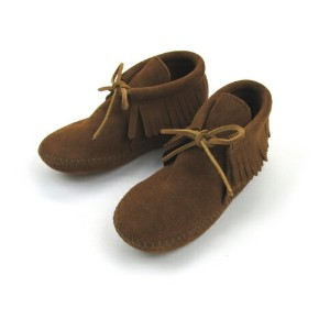 【ミネトンカ キッズ MINNETONKA KIDS】CHILD'S CLASSIC FRINGED BOOT【送料無料】