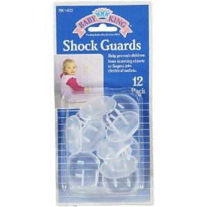 Baby King 12-Pack Shock Guards - colors as shown, one size by Baby King