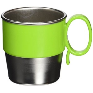 Innobaby Din Smart Stainless Cup, Green, 9.5 Ounce by Innobaby