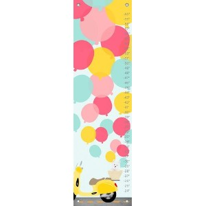 Oopsy Daisy Growth Chart, Balloons, 12 x 42 by Oopsy Daisy