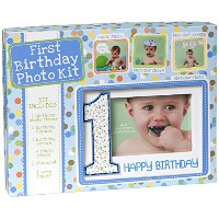C.R. Gibson First Birthday Photo Kit, Birthday Boy by C.R. Gibson