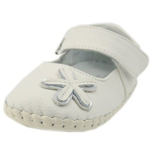 Orgrimmar Baby First Walkers Soft Sole Leather Toddler Shoes (Size S, Starfish Style White) by...