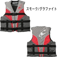 2017 O'NEILL 正規品 子供用 SUPERLITE USCG VEST (YOUTH) (スモーク/グラファイト/レッド/ホワイト, YOUTH)