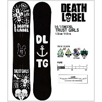 【スノーボード 板】14-15 SNOWBOARD DEATH LABEL TRUST GIRLS 【138/142】
