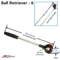 a99 Golf 6 ft Telescopic Ball Retriever Pick upツール
