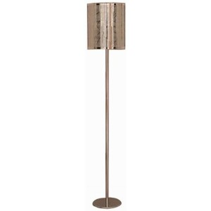 Lite Source LS-82107 Floor Lamp, Chrome with Metal Shade by Lite Source