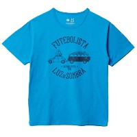 LUZeSOMBRA(ルースイソンブラ) NATURAL MYSTIC TOUR T-SHIRT S1612009 XLサイズ ターコイズブルー