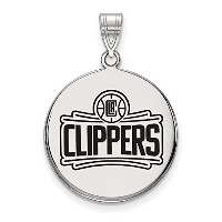 SS Los Angeles Clippers大きなエナメルディスクペンダント