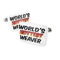 Cufflinks Worlds Hottest Weaver磁器セラミックNEONBLOND