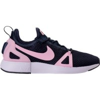 (ナイキ)Nike キッズカジュアルシューズ・靴 Girls' Grade School Nike Duel Racer Running Shoes Obsidian/Prism Pink...