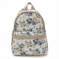 LeSportsac レスポートサック リュックサック 7812 BASIC BACKPACK ENDLESS FIELDS PINK D980 [並行輸入商品]