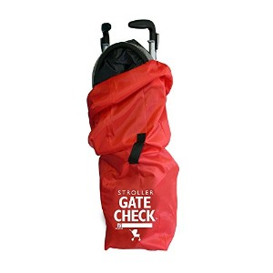 JL Childress Gate Check Travel Bag for Umbrella Strollers (Red)