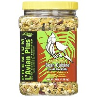 L'Avian Plus Bean Cuisine All Natural Human Grade Bird Snack Treat Food 3lbs