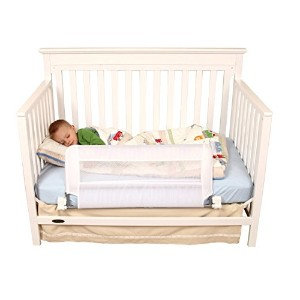 Regalo Convertible Swing Down Crib Rail, 33-Inches Long by 16-Inch Tall by Regalo