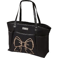 The Bumble Collection Sequin Tote Bag, Bow by The Bumble Collection