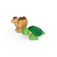 Fisher-Price Little People Camel and Sea Turtle [並行輸入品]
