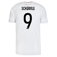 adidas SCHURRLE #9 Germany Home Men's Soccer Jersey FIFA Confederations Cup 2017/サッカーユニフォーム ドイツ...