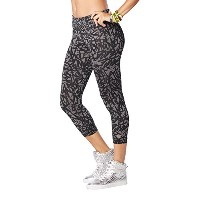 Zumba (ズンバ) Perfect Capri Leggings [並行輸入品] Gunmetal (S)