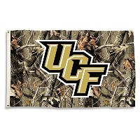 NCAA Central Florida Golden Knights Flag withグロメット、3 ' x 5 '、カモ
