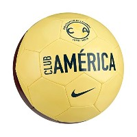 Nike Club America Supporter's Ball 2016(lemon chiffon , navy, white)/サッカーボール Club America Supporter...