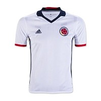 adidas Colombia Home Soccer Jersey Copa America Centenario 2016 YOUTH/サッカーユニフォーム コロンビア ホーム用 背番号なし...