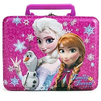Disney Frozen Family Forever Large Tin Lunchボックスwithハンドル