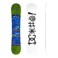 DC Men's PBJ Snowboard Multi Color 153 [並行輸入品]