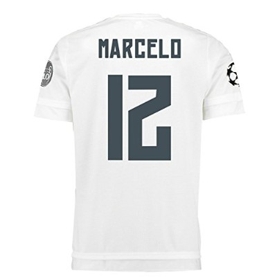 Adidas Marcelo #12 Real Madrid UEFA Champions League Home Jersey 2015/16 -YOUTH/サッカーユニフォーム レアル...