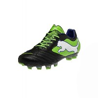 Puma Powercat 1 FG Black Green/サッカースパイク Powercat 1 FG (10- 28.0cm)