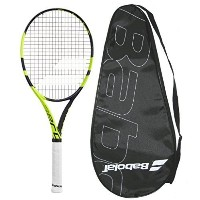 Babolat 2016 AeroPro Lite – Pure Aero Lite – Strung with Cover Tennis Racquet