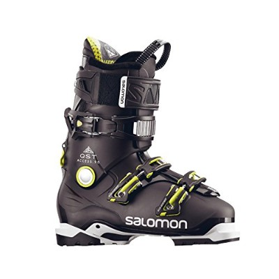 サロモン(SALOMON) スキーブーツ メンズ QST ACCESS 90 Anthracite Translucent-Black-A 26.5cm 2017-18年モデル L39936200