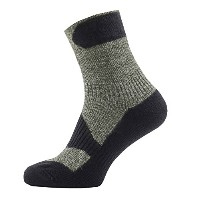 SealSkinz(シールスキンズ) Walking Thin Ankle OC S 111161702-310 Olive Marl/Charcoal S